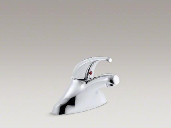 KOHLER Coralais(R) centerset commercial bathroom sink faucet with ...