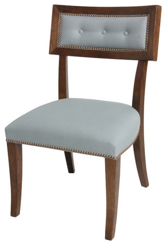 Dining Chair Curved Back Traditional Dining Chairs