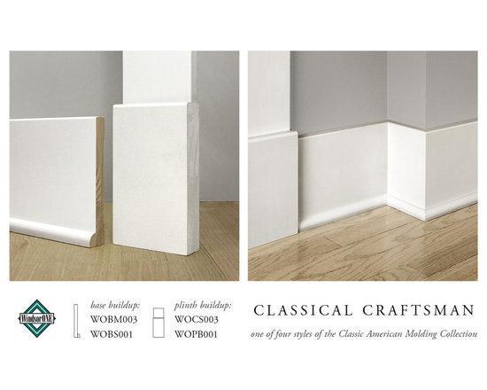 WindsorONE Classical Craftsman Plinth Block & Base Molding -