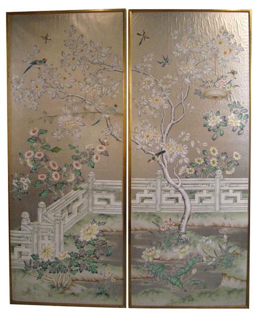 Gracie wallpaper panels asian wallpaper - Wall wallpaper wall panel ...