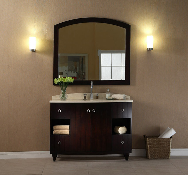 Xylem Capri V-CAPRI-48DE contemporary bathroom vanities and sink consoles