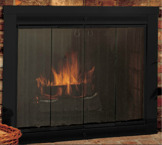 Classic Fireplace Door For Masonry Fireplaces Traditional Fireplace Screens By Cj 39 S Home