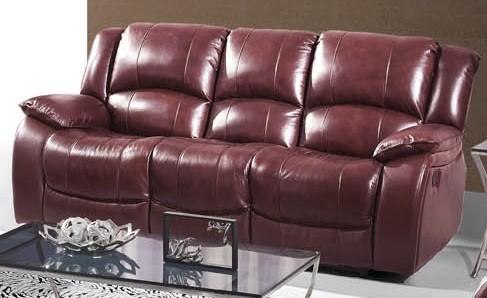 Fina Ultra Premium Italian Leather Reclining Sofa modern-sofas