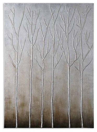 Uttermost Sterling Trees contemporary-artwork