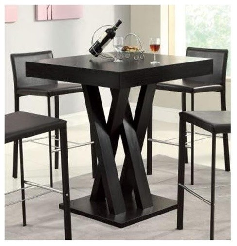 Bar Table Contemporary Indoor Pub And Bistro Tables