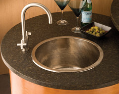 Redondo Grande Brushed Nickel traditional kitchen sinks