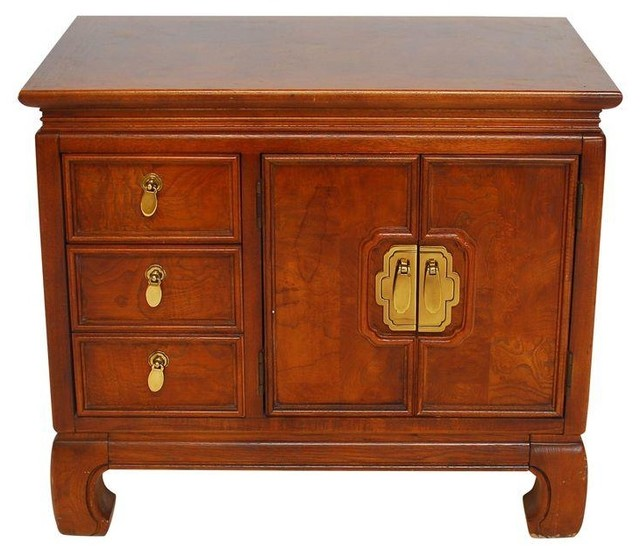 Pre-owned Vintage Thomasville Asian Style Side Table