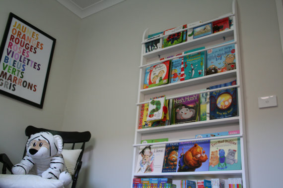 Kids Bookshelf By Steve Marrari contemporary-kids-bookcases