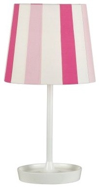 Kenroy Home Raya Accent Lamp - Pink modern-table-lamps