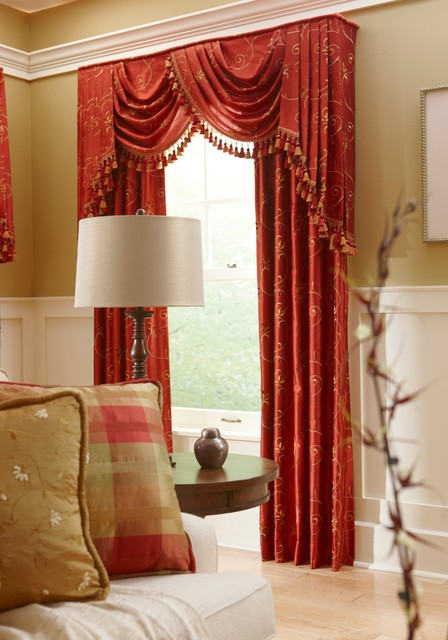 Drapery and Cornices curtains