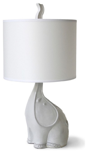 Jonathan Adler Utopia Elephant Lamp contemporary table lamps