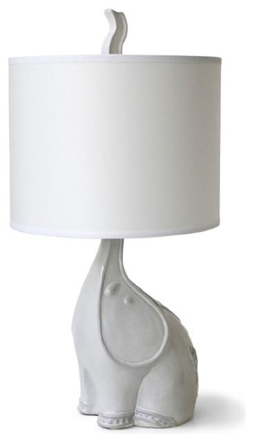 Jonathan Adler Utopia Elephant Lamp contemporary-table-lamps