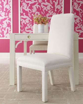 Lilly Pulitzer Home McKim Chair traditional dining chairs and benches