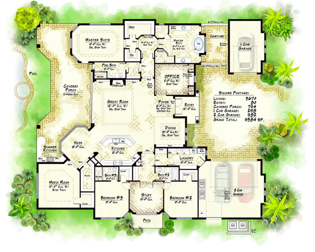 Private Collection Model Traditional Floor Plan