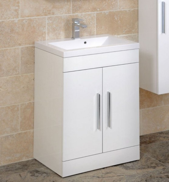 Adiere Vanity Unit White Contemporary Bathroom Vanity Units Sink Ca