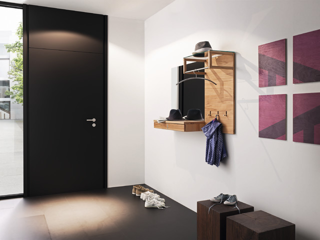 Hallway storage and coat rack - Modern - london - by Wharfside