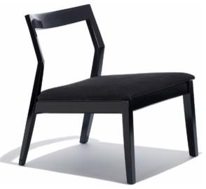Knoll | Krusin Armless Lounge Chair modern-living-room-chairs