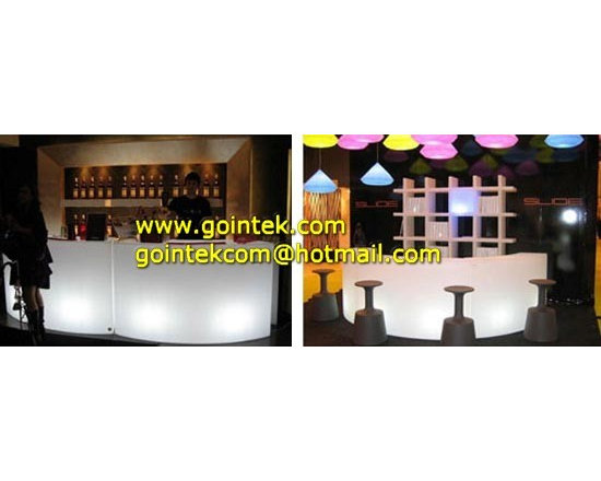 New Bar Furniture With Light Color Change & Remote Control -
