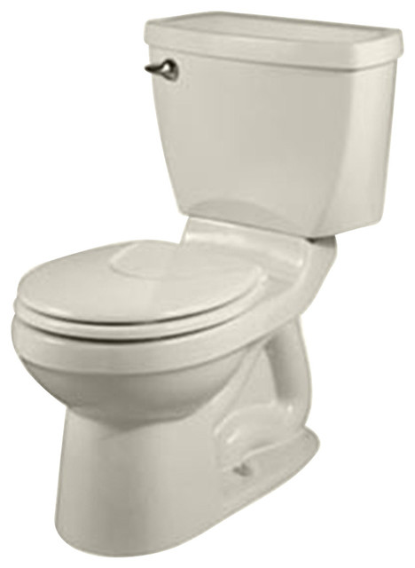 Champion 4 Round Two-Piece Toilet in Linen contemporary-toilets