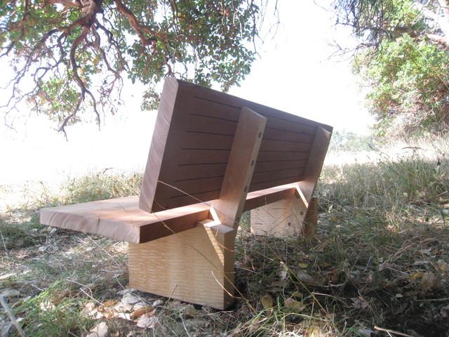 Memorial bench contemporary-indoor-benches