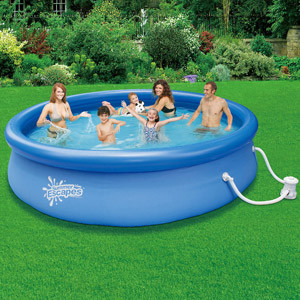 Summer Escapes Quick Set Ring Pool Contemporary By Walmart