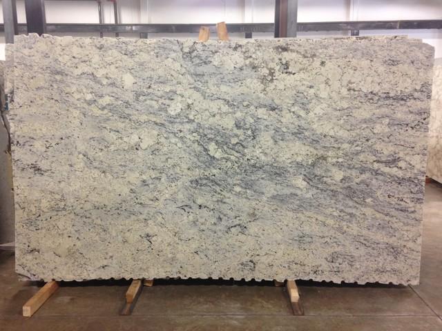 Aspen White Granite - Kitchen Countertops - atlanta - by AGM IMPORTS
