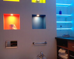 LED Bathroom & Shower Lighting modern-bathroom-lighting-and-vanity-lighting