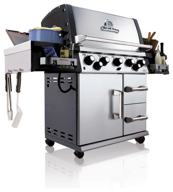 Imperial 590 LP Gas Grill contemporary-outdoor-grills