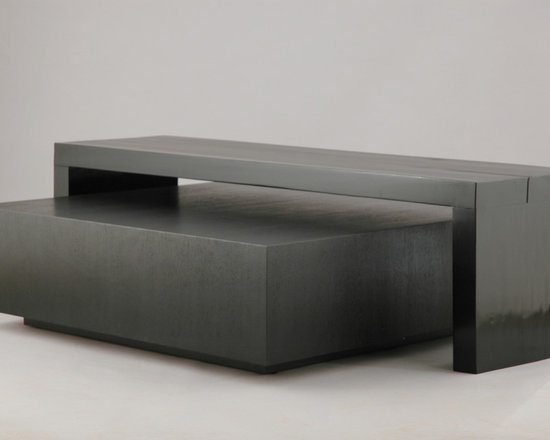 """Cashin Coffee Table with Bridge - Art 