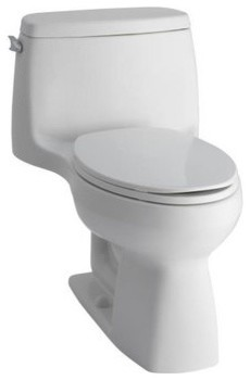 Kohler Santa Rosa >> Kohler K-3810-0 White Santa Rosa Santa Rosa Comfort Height One-Piece - Contemporary - Toilet ...