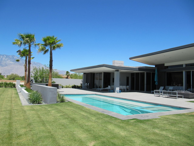 Rancho Mirage Modern Residence SS modern-swimming-pools-and-spas
