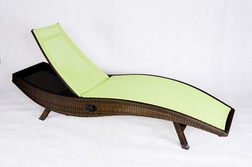 Out of blue kahuna chaise lounge modern outdoor chaise for Blue outdoor chaise lounge