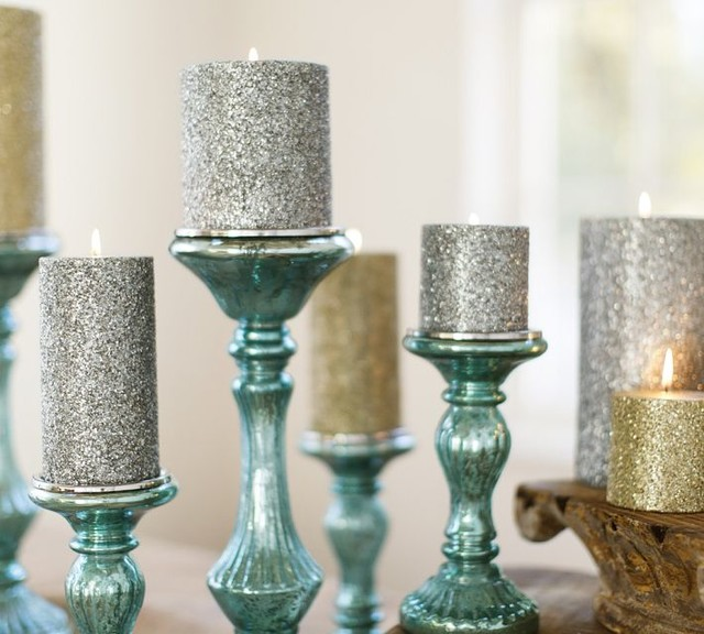 Mercury Pillar Candle Holder Products on Houzz