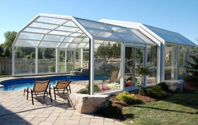 Retractable pool enclosures modern other metro by covers in play Retractable swimming pool enclosures