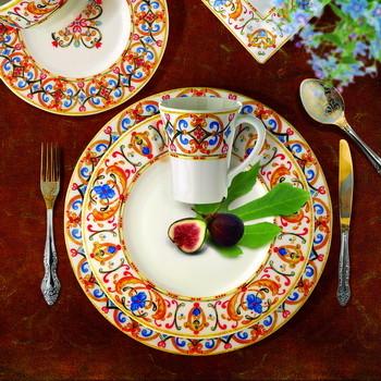 Sintra Dinnerware Mediterranean Dinnerware Los Angeles By