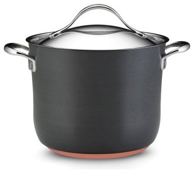It's more fun to cook when you have quality pots and pans. The Anolon Nouvelle C modern-specialty-cookware