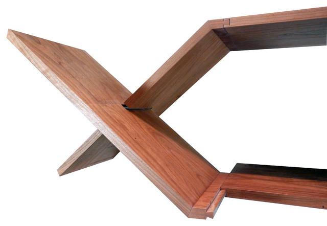 Halshugget  Shelves modern-display-and-wall-shelves