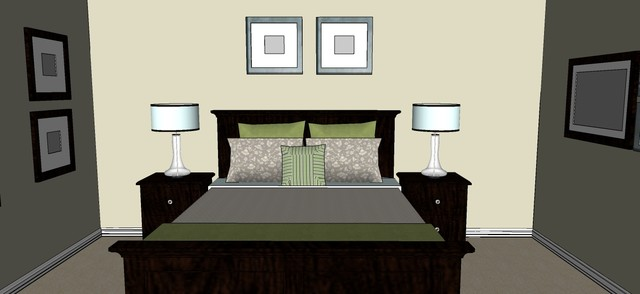 7-Day Master Bedroom Make-Over eclectic-rendering
