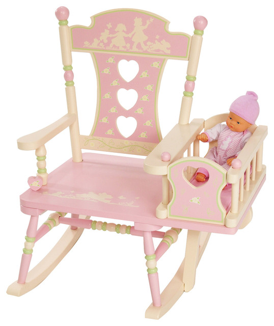 Rock-A-My-Baby Rocker transitional-kids-chairs