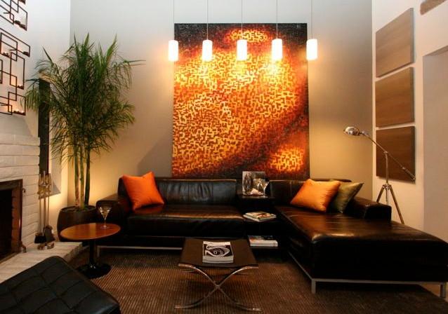 Lighting a Livingroom modern
