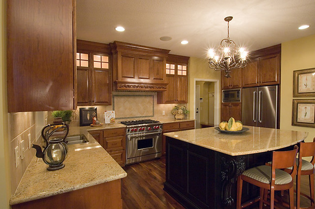 2005 Parade Home B traditional-kitchen