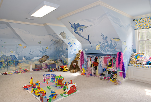 Kennesaw - Children's Playroom eclectic-kids
