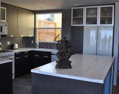 Aztec Street SF. Nar Fine Carpentry. Sacramento. El Dorado Hills contemporary-kitchen