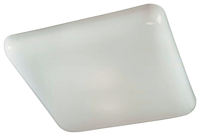 Square Kitchen Fluorescent 19 Wide Ceiling Light Fixture