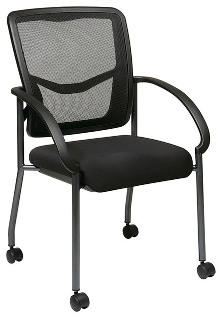Pro-Line II ProGrid Visitors Chair with Built-in Lumber Support traditional-office-chairs