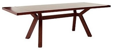 Seymour Trestle Dining Table contemporary dining tables