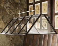 Greenhouse Indoor-Outdoor Chandelier contemporary-chandeliers
