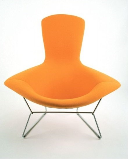 Bertoia Bird Chair with Full Cover modern armchairs