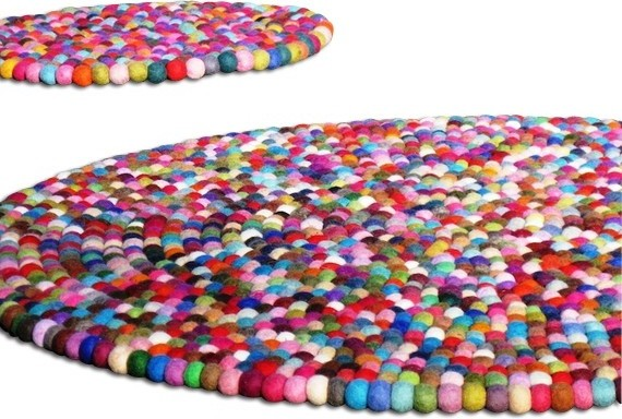 45 Gumball YUMMIRug by Yummi Shop contemporary-kids-rugs