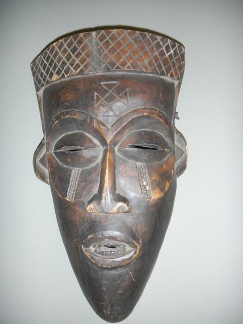 Africa Mask from Ghana artwork